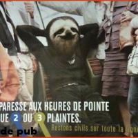 Si La Fontaine prenait le métro...