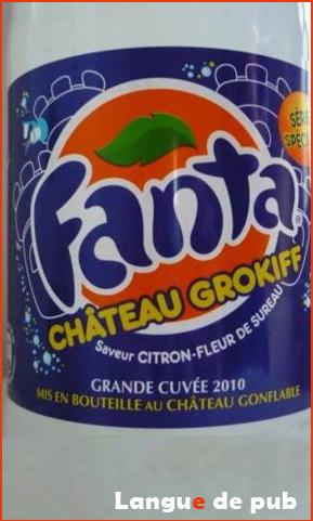 Fanta Château Grokiff