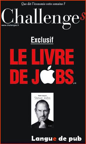 Le livre de Steve Jobs