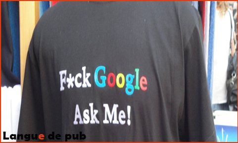 Fuck Google Ask me !