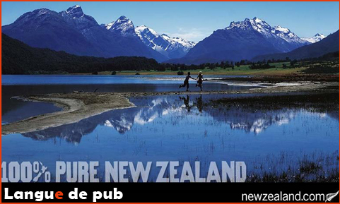 Affiche 100% pure New Zealand