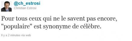 Estrosi twitter Fouquet's