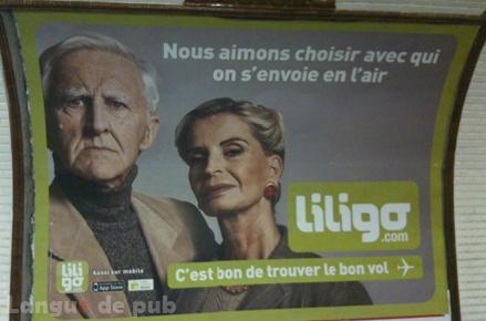 Liligo : nous aimons choisir avec qui on s'envoie en l'air