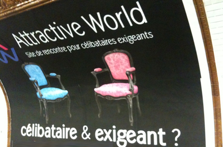 Affiche Attractive World : célibataire et exigeant ?