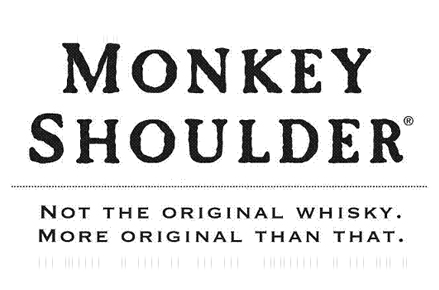 "Logo Monkey Shoulder ""Not the original whisky. More original than that"""