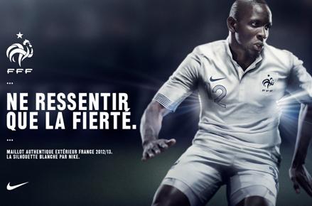 """Affiche maillot équipe de France de football """"Ne ressentir que la fierté"""""""