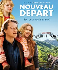 Affiche Nouveau départ ; Et si on achetait un zoo ?