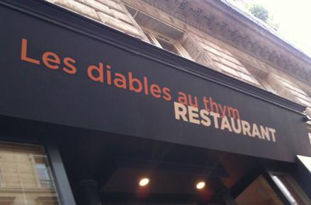 Restaurant Les Diables au thym