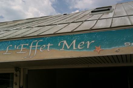 L'Effet Mer restaurant