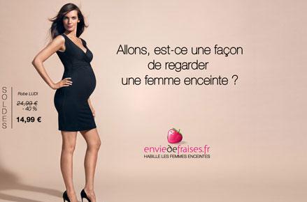 Affiche Allons, est-ce une façon de regarder une femme enceinte ?