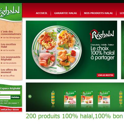 Affiche Reghalal Le choix 100 % halal à partager