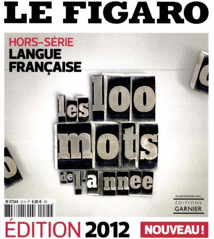 Figaro hors série : les 100 mots de l'année