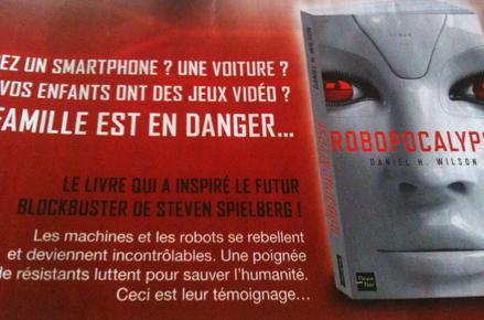 Robopocalypse, Steven Spielberg