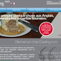 iDealing : la tourte et le broker