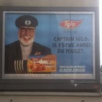 Heureusement, Captain Iglo ne fait pas de lasagnes